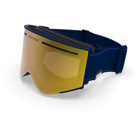 Spektrum Helags Essential Goggles, night blue/zeiss brown multi layer gold